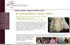 Floating Stone Asian Silks...
